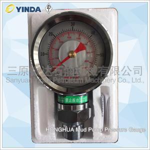 Wholesale Drill Rig Mud Pump Pressure Gauge YK-150 Y-60 11-3161-1510 11-3161-2501 HONGHUA from china suppliers