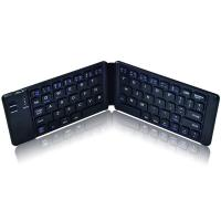 Quality Power Saving Folding Bluetooth Keyboard Full Size Ultra Slim 1 Year Warranty for sale