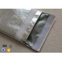 Large A4 Size No Itchy Fiberglass Fire Resistant Pouch Fireproof Document Bag Manufactures
