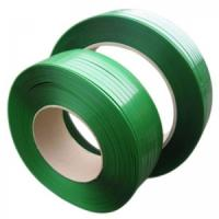 Buy cheap Impact Resistance Cargo Pet Packing Belt , Plastic Strapping Tape Green Color from wholesalers