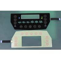Buy cheap translucent black glass or PET Capacitive Membrane Switches, capacitive touch membrane keypad from wholesalers