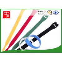 Buy cheap Durable T shape hook and loop strap , reusable nylon cable ties from wholesalers