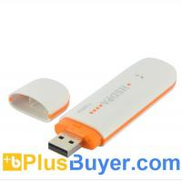 Buy cheap HSUPA - 3G USB Modem for Laptops, Windows Compatible - Plug-and-play from wholesalers