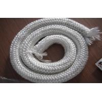 Buy cheap Reinforcement Braided E Glass Fibre Rope For Stove Sealing , 200℃ - 250℃ from wholesalers