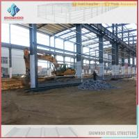 Buy cheap SHOWHOO Prefabricated Space Frame Metal Shed Build Steel Structure Factory Building from wholesalers