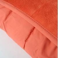 Buy cheap Multi Short Plushed Cushioned Colorful Super King Quilt Microfiber Blanket from wholesalers