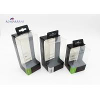 Buy cheap Clear PET Front Window Hard Plastic Box Packaging With Hang Strip On Top from wholesalers