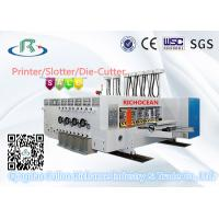 Buy cheap Multicolors Automatic Flexo Printing Slotting Die Cutting Machine from wholesalers