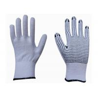 Buy cheap High Performance Cotton Work Gloves With Rubber Gripper Dots CE Approved from wholesalers