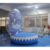 Buy cheap Ornament Inflatable Snow Globe Tent For Holiday 3 Years Warranty from wholesalers