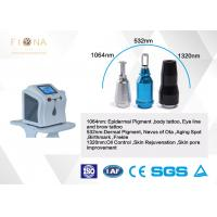 Buy cheap 6 * 140mm LampLaser Tattoo Removal Machine 532nm Easy Operation CE Certification from wholesalers