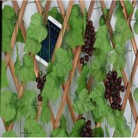 Wholesale 2.3m Fake Ivy Leaves Garland Vine Creeper Grape Foliage Carton Packing from china suppliers