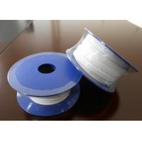 Buy cheap Smooth Expanded PTFE Gasket Tape / One Side Adhesive Teflon Sealing Tape from wholesalers