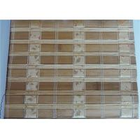 Buy cheap Comfortable Bamboo Roller Blinds , Indoor Bamboo Window Shades High Strength from wholesalers