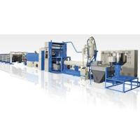 350kg/H PP Flat Yarn Extrusion Line , PP Woven Bag Making Machine High Speed