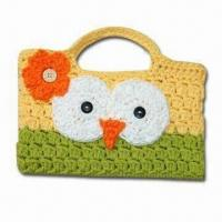 Buy cheap Fashionable Hand Crochet Bag, Customized Designs are Welcome from wholesalers