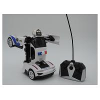 Buy cheap Remote Control Transformers Police Car Toy Autobot Hand Induced Deformation from wholesalers