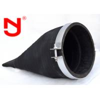 Buy cheap Clamp Rubber Duckbill Check Valve Automatic Backflow Preventer Epoxy Fusion Coating from wholesalers
