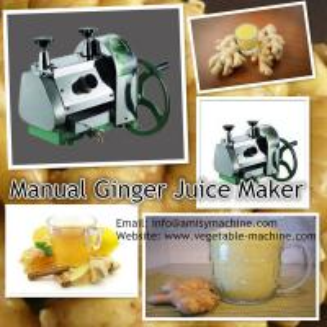 Manual Ginger Juice Making Machine Manufactures
