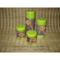 Buy cheap Apple Aromatherapy Pillar Candle Home Decoration Crafts from wholesalers