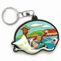 Wholesale Fancy Keychain, Customized Logos, Patterns, Designs and Sizes are Accepted from china suppliers
