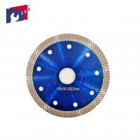 Buy cheap 115 X 10 Mm Diamond Saw Blades Blue Color Polish Or Painted Finishing from wholesalers