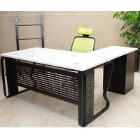 Buy cheap Stainless Steel Frame Administrative Office Desk , 18 - 25mm Steeline Office Furniture from wholesalers