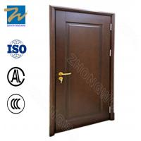 Wholesale Solid Wooden Fire Exit Doors , Solid Wood Fire Rated Door For Refuge Room from china suppliers