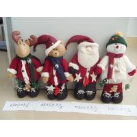 Buy cheap Lovely Cloth Mini Santa Toy Personalized Christmas Decorations for Holiday Gifts from wholesalers