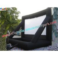 Wholesale Commercial Portable 0.55mm PVC Tarpaulin Inflatable Projection Screen For Outdoor from china suppliers