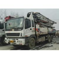 Buy cheap 2010 Year Used Concrete Pump Truck ISUZU-ZOOMLION Brand With 43m Pump from wholesalers
