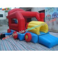 Buy cheap Car Inflatable Bounce Houses With Mini Jumper Slide For Children Play from wholesalers
