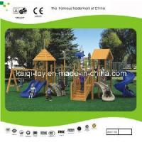 Wholesale Wooden Series Outdoor Playground Equipment (KQ10154A) from china suppliers