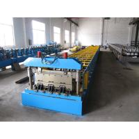 Wholesale Galvanized Steel Sheet Floor Deck Roll Forming Machine 12-16 m / min Processing Speed from china suppliers