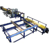 Buy cheap Log sawing Twin Heads Vertical Band Saw Equipment, Log processing line TVS Vertical Resaw from wholesalers