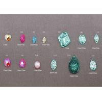Buy cheap Heart, Oval Shape Loose Plastic, Acrylic, Resin bead Flat Back Gems from wholesalers