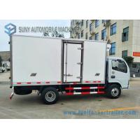 Buy cheap 14ft Refrigerator Van Truck / Refrigerated Box Refrigerator Freezer Cargo Van CKD Kits from wholesalers