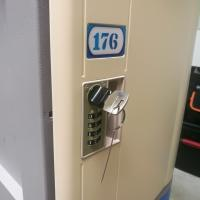 Buy cheap Vandal Resistant Employee Storage Lockers , Environmental Protection Commercial Gym Lockers from wholesalers