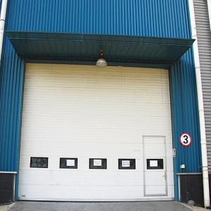 Safely Garage Sectional Doors , Industrial Overhead Doors Big Size Manufactures