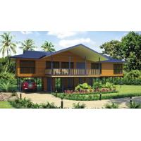 Buy cheap Bali Prefabricated Wooden Houses / ETC Home Beach Bungalows For Holiday Living from wholesalers