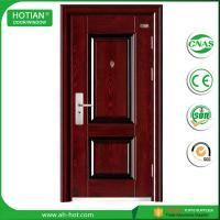 Wholesale Competitive Luxury Steel Door China Low Prices Modern Industrial Security Steel Door with Galvanized Handle from china suppliers