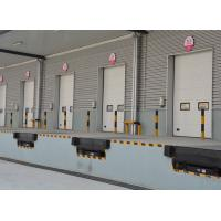 Industrial overhead sectional roll up doors with PU sandwich insulated panel Manufactures