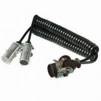 Buy cheap 15 Poles PU Adapter Coil with Aluminum Plug and 3.5m Cable from wholesalers