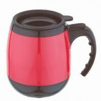Wholesale 16oz promotional plastic coffee mug from china suppliers