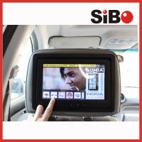 Buy cheap 9 inch wifi 3G bluetooth Android 4.2 OS taxi bus car advertising video LCD monitor with headrest from wholesalers