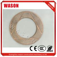 Buy cheap Metal Clutch Friction Plate / Friction Disc 11037196 For Volvo EC Excavator from wholesalers