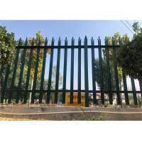 Buy cheap Commercial Picket Anti Climb Security Fencing High Security Hot Dip Galvanized from wholesalers