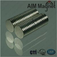 Buy cheap Nickel Plated D3 x 10mm Strongest Neodymium Disk Magnets from wholesalers