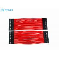 Buy cheap Silicon Rubber Woven Glass Fiber Custom Wire Harness High Temperature 24AGW Wear Resistant from wholesalers