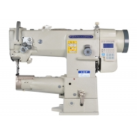 Buy cheap 250*110mm 10.5mm Stitch Direct Drive Compound Feed Sewing Machine from wholesalers